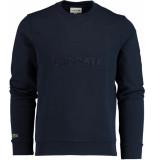 Lacoste Sweater met logo sh8546/166 blauw