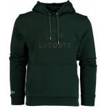 Lacoste Sweater met capuchon sh8590/yzp groen