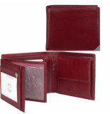 dR Amsterdam Billfold Rood One size