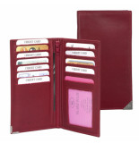 dR Amsterdam Citcard-etui Rood One size