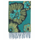 Laine Bonnet Shawl 9651 groen