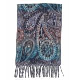 Laine Bonnet Shawl 9655 blauw