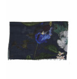 Laine Bonnet Shawl 9255 blauw