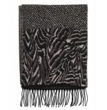 Laine Bonnet Shawl 9211 zwart