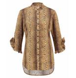 Studio Anneloes Blouse 03512 pita leopard bruin