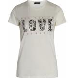 Sisters Point Rola-ss3 t-shirt cream zebra ecru