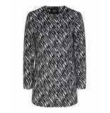Only Anni zebra coat zwart