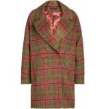 King Louie Amelie coat missisippi olive groen