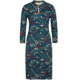 King Louie Chinese dress manzai autum blauw