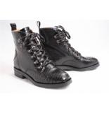 Via Vai 5304015 biker boots zwart