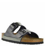 Birkenstock Dames slippers anthracite grijs