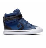 Converse All stars pro strap 765297c / zwart / wit blauw