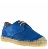 Fabiolas Dames veterschoenen blauw