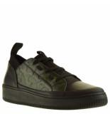 Okyo Sneakers zwart groen
