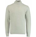 Profuomo Ppqj3c0047 pullovers 80% wol / 20% polyamide grijs