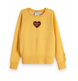 Maison Scotch Sweatshirt 150107 geel