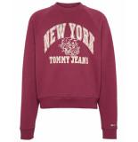 Tommy Hilfiger Sweatshirt dw0dw07120vg5 rood
