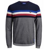 Jack & Jones Pullover 12155586 jorlarry blauw