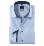 Olymp Dress hemd 125044 blauw