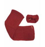 NoBell Shawl q908-3900 rood