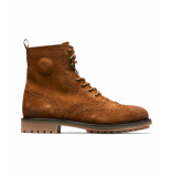 Scotch & Soda Enkel boots 19843999 borrel ecru