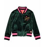 Funky XS Blazer gl velours jacket groen