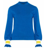 Sisters Point Pullover lafa royal blue blauw