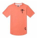 Off The Pitch Off printed shirt - roze