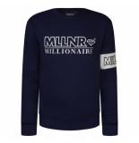 Millionaire Mllnr anthony sweater - blauw