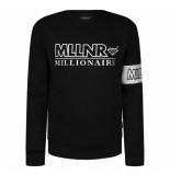 Millionaire Mllnr anthony sweater - zwart