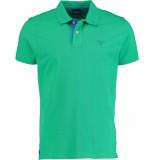 Gant Contrast collar pique polo 252105/356 groen