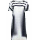 Pieces Pcingrid ss dress noos 17089195 bright white/maritime blue wit
