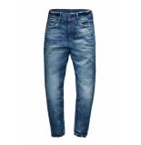 G-Star 3301 mid boyfrienf rp 7/8 wmn blauw