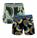 Muchachomalo Men short 2-pack proud as a peacock