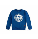 Skurk Sweater steveston kobalt blauw