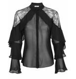 Goldie Estelle Sophie blouse - zwart
