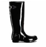 Hunter Regenlaars original wellington adjustable gloss black-schoenmaat 38