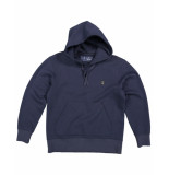 Butcher of Blue Sweatshirt 1913009 classic hooded blauw