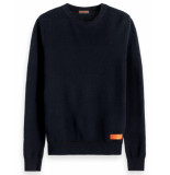 Scotch & Soda Pullover 152344 blauw