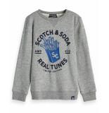 Scotch Shrunk Pullover 151447 grijs
