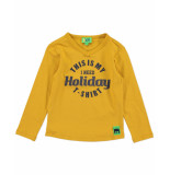 Funky XS T-shirt bss2 holiday tee geel