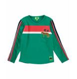 Funky XS T-shirt bss2 block tee groen