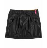 Funky XS Rok gl leather skirt zwart