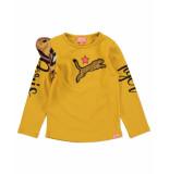 Funky XS Shirt gl tiger tee geel