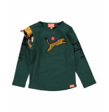 Funky XS Shirt gl tiger tee groen