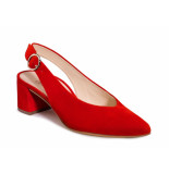 Paul Green slingback pump rood