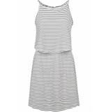Urban Classics 2 layer spaghetti dress tb2220 off white wit