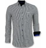Gentile Bellini Italiaanse blouse mannen wit