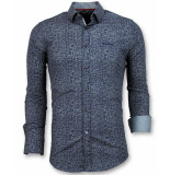 Tony Backer Slim fit grundge texture