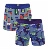 Muchachomalo Men short 2-pack life is a journey
